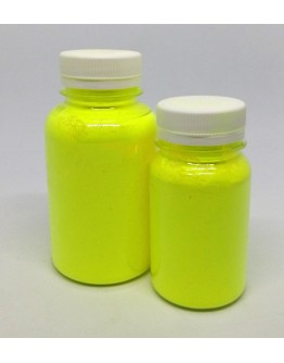 Fluorescent pigment yellow