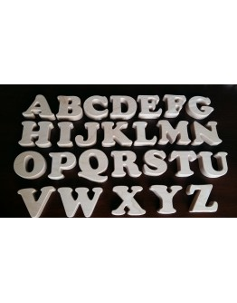 Children's alphabet letters of wood XXL