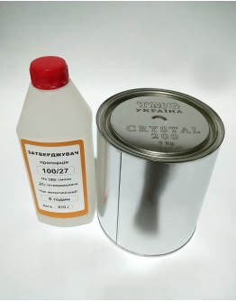 Epoxy resin Crystal 200 3,8 kg