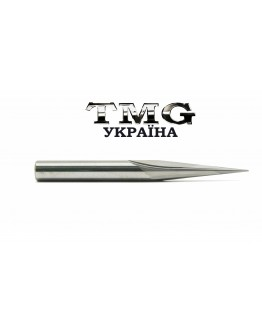 Two flutes straight sharp bits 6х60х D0,5