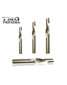 Single flute end mill for aluminum 3,175х15х38