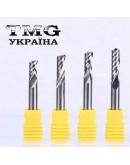Single flute spiral bit 4х22х45