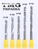 Фреза однозаходная 3,175х12х38